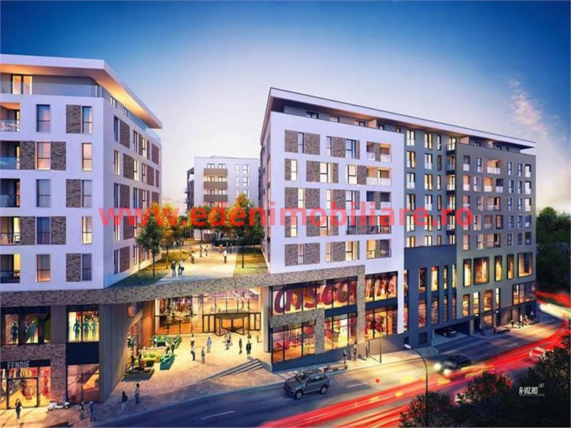 Apartament 2 camere de vanzare in Cluj, zona Centru, 75500 eur