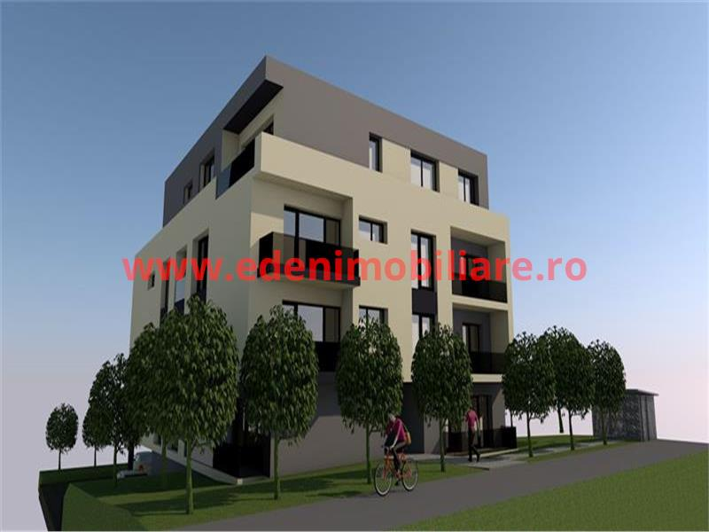 Apartament 3 camere de vanzare in Cluj, zona Borhanci, 73000 eur