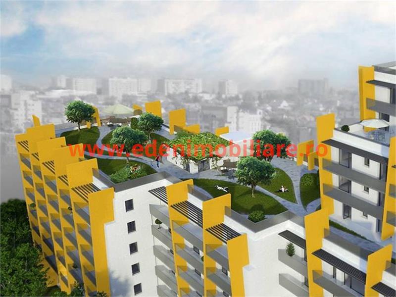 Apartament 4 camere de vanzare in Cluj, zona Marasti, 99480 eur