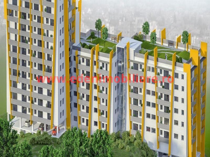Apartament 3 camere de vanzare in Cluj, zona Marasti, 84949 eur