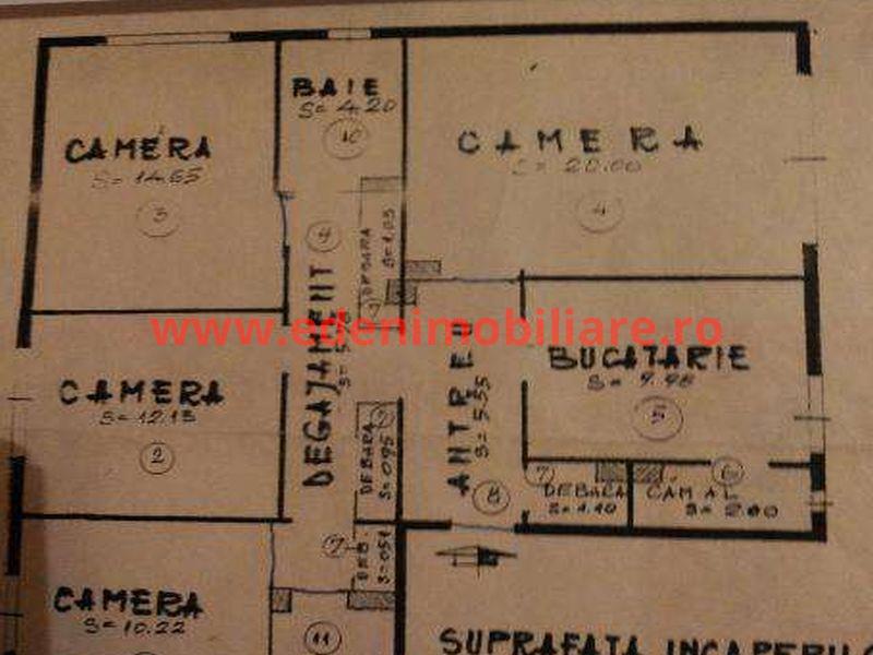 Apartament 4 camere de vanzare in Cluj, zona Manastur, 75000 eur