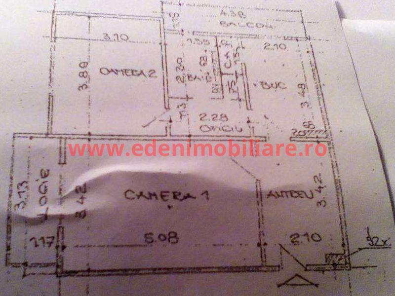 Apartament 2 camere de vanzare in Cluj, zona Gheorgheni, 59000 eur