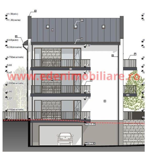 Apartament 2 camere de vanzare in Cluj, zona Zorilor, 70800 eur