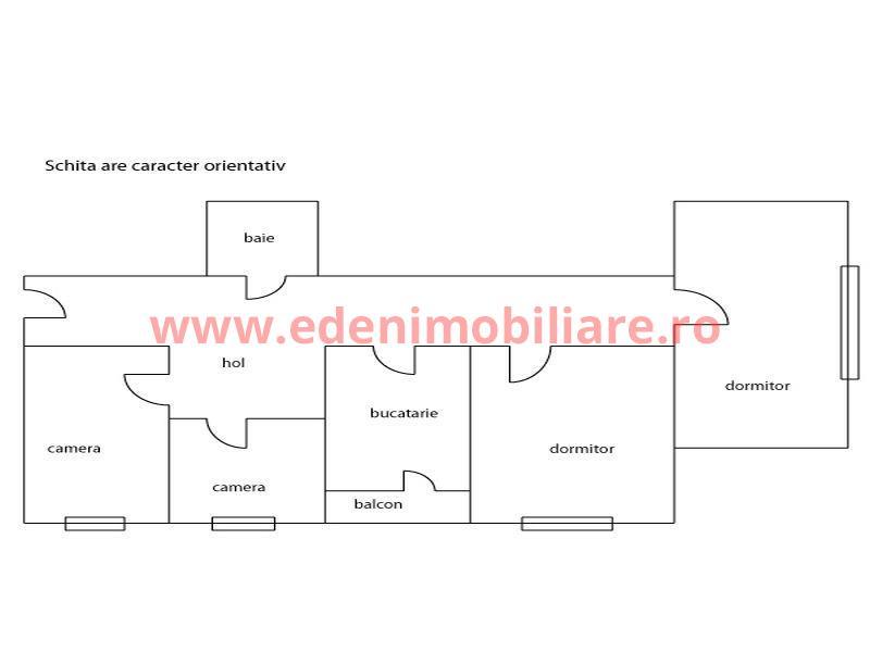 Apartament 4 camere de vanzare in Cluj, zona Gheorgheni, 98000 eur