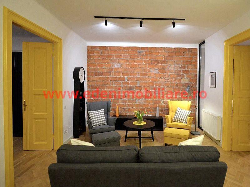 Apartament 2 camere de inchiriat in Cluj, zona Centru, 1000 eur