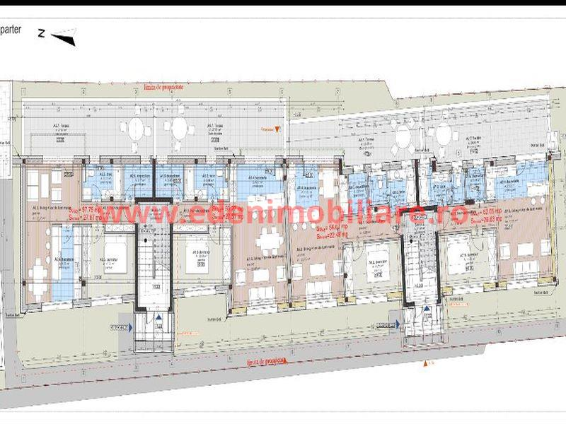 Apartament 2 camere de vanzare in Cluj, zona Grigorescu, 95000 eur