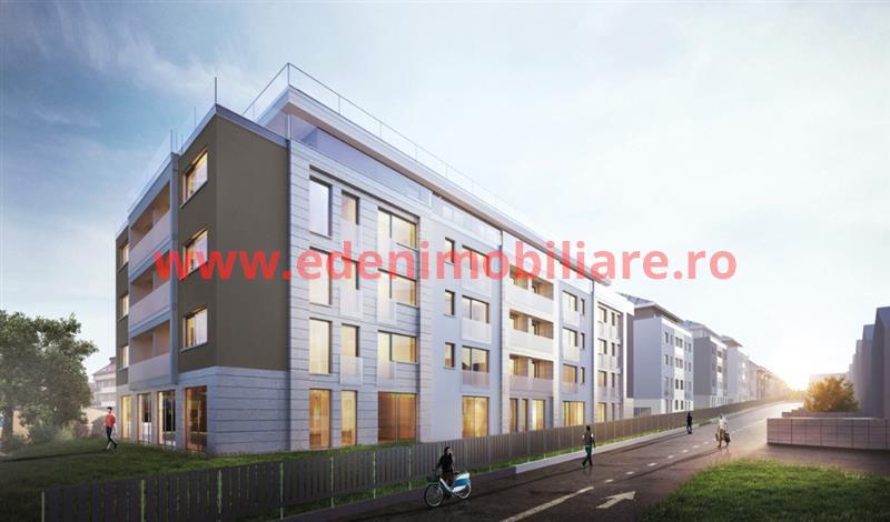 Apartament 3 camere de vanzare in Cluj, zona Buna-Ziua, 79468 eur