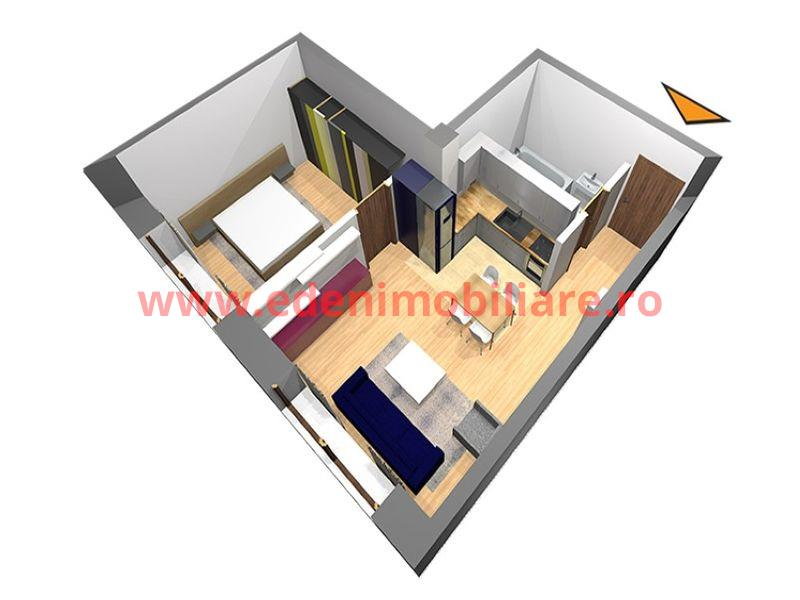 Apartament 2 camere de vanzare in Cluj, zona Manastur, 39000 eur