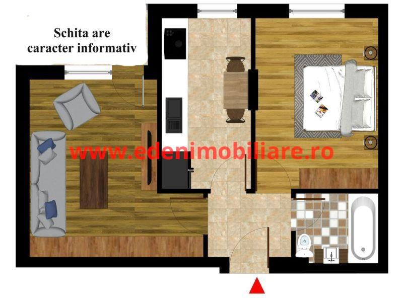 Apartament 2 camere de vanzare in Cluj, zona Zorilor, 85000 eur