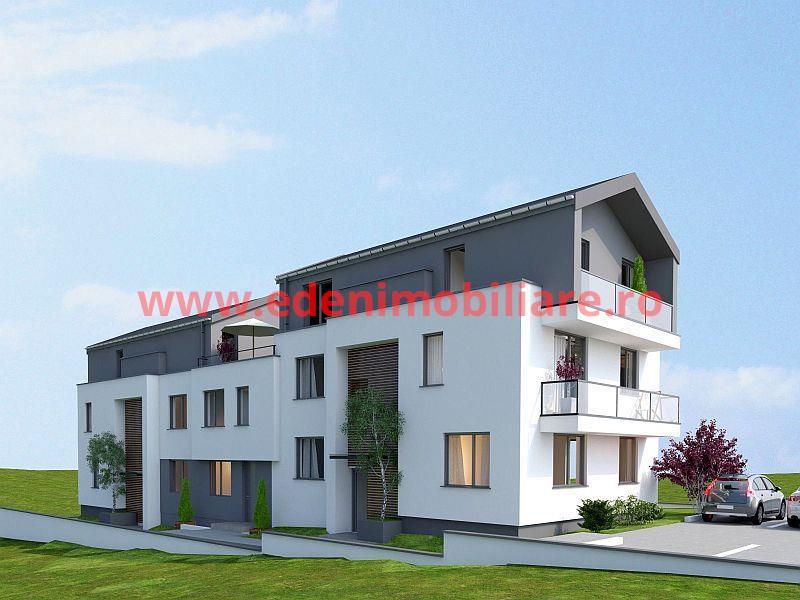 Apartament 3 camere de vanzare in Cluj, zona Europa, 81900 eur