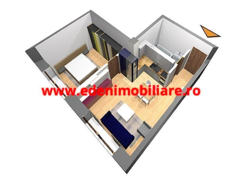 Apartament 2 camere de vanzare in Cluj, zona Zorilor, 50000 eur