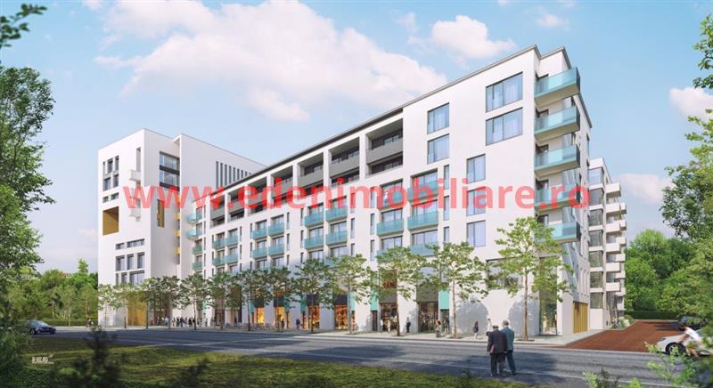Apartament 1 camera de vanzare in Cluj, zona Gheorgheni, 49525 eur