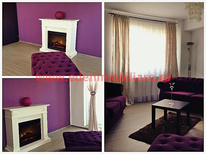 Apartament 2 camere de inchiriat in Cluj, zona Calea Turzii, 550 eur