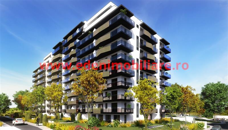 Apartament 1 camera de vanzare in Cluj, zona Gheorgheni, 44042 eur