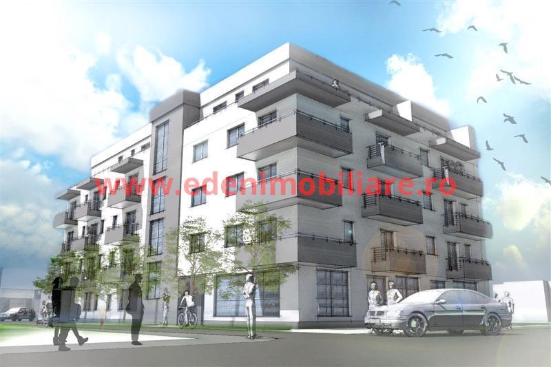 Apartament 3 camere de vanzare in Cluj, zona Someseni, 71150 eur