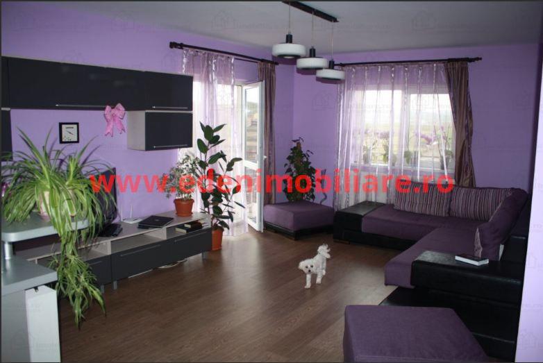 Apartament 3 camere de vanzare in Cluj, zona Apahida, 62000 eur