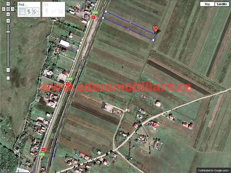 Teren de vanzare in Cluj, zona Jucu, 30000 eur