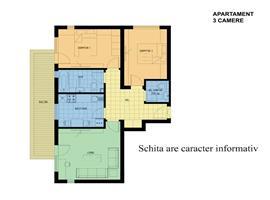 Vanzare apartament cu 3 camere in Manastur, str Peana