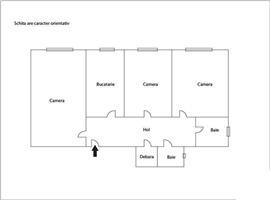 Vanzare apartament cu 3 camere in Marasti, zona OMV
