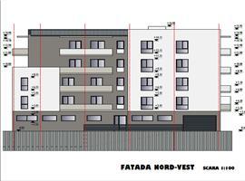 Apartament 3 camere 75 mp si 21 terasa in Cluj, zona Marasti