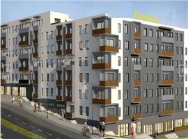 Apartament 3 camere 76 mp imobil nou semifinisat in Dambul Rotund