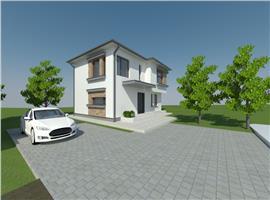 Casa individuala semifinisata cu 450 m teren in Dambul Rotund