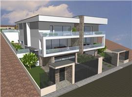 Teren cu proiect si autorizatie pt constructie case cuplate in Gruia