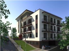 Apartamente 3 camere in vila zona Borhanci Cluj Napoca