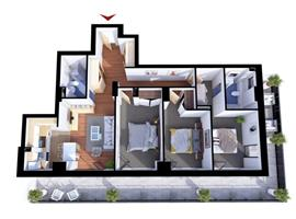 Comision 0% Apartament 4 camere Gheorgheni, zona Iulius Mall