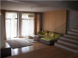 Duplex ultrafinisat cu 300 mp teren de inchiriat in Gheorgheni