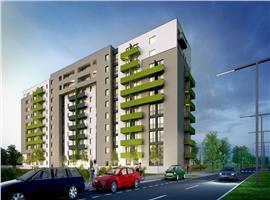 Apatamente 3 camere de vanzare in Gheorgheni imobil nou