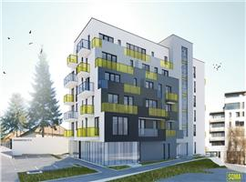 Apartament 3 camere 70 mp cu terasa si gradina zona Iulius Mall