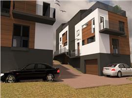 Case cuplate in Buna Ziua cu garaj si terasa circulabila