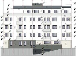 Apartament  semifinisat 2 camere 53 m in Marasti