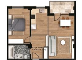 Apartament 2 camere in imobil nou ideal locuinta sau birou