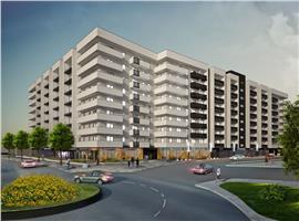 Apartamente 2 camera in Marasti, imobil nou semifinisate.