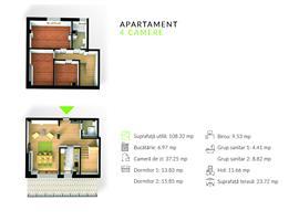 Apartament cu scara interioara Gheorgheni, Cluj Napoca