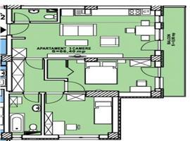 Apartament 3 camere Calea Turzii Cluj Napoca