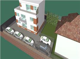 Apartament cu scara interioara in vila cartier Buna Ziua