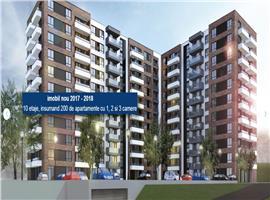 Vanzare apartament 1 camera imobil nou zona Iulius Mall