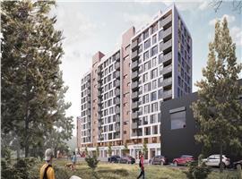 Apartament 3 camere 76 mp in Marasti imobil nou