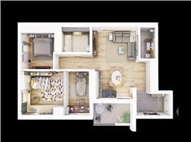Apartament 3 camere zona Centrala , Cluj Napoca