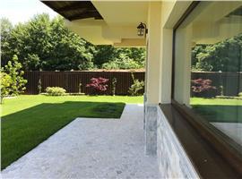Casa finisata cu piscina si 570 mp teren in Faget
