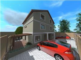 Case unifamiliale cuplate cu 5 camere in Sannicoara