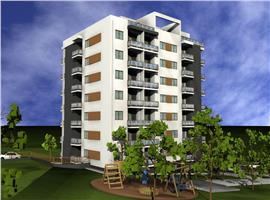 Apartament 1 camera 44 m decomandat imobil nou in Baciu