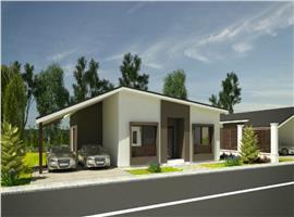 Case individuale 4 camere si 450 m teren in Sannicoara