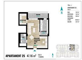 Apartament 1 camera imobil nou Calea Turzii