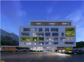 Apartament 2 camere 59 mp si 10 m terasa in centru Cluj