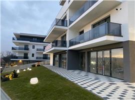 Apartamente 4 camere 110 mp si 51 m terasa imobil tip vila in Borhanci