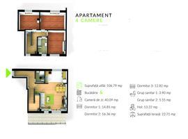 Apartament 4 camere cu scara interioara in Gheorgheni, Cluj Napoca